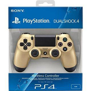 NEW Authentic With Sony Warranty Gold PlayStation 4 PS4 Wireless Controller Play Station For Console Fat Slim Pro