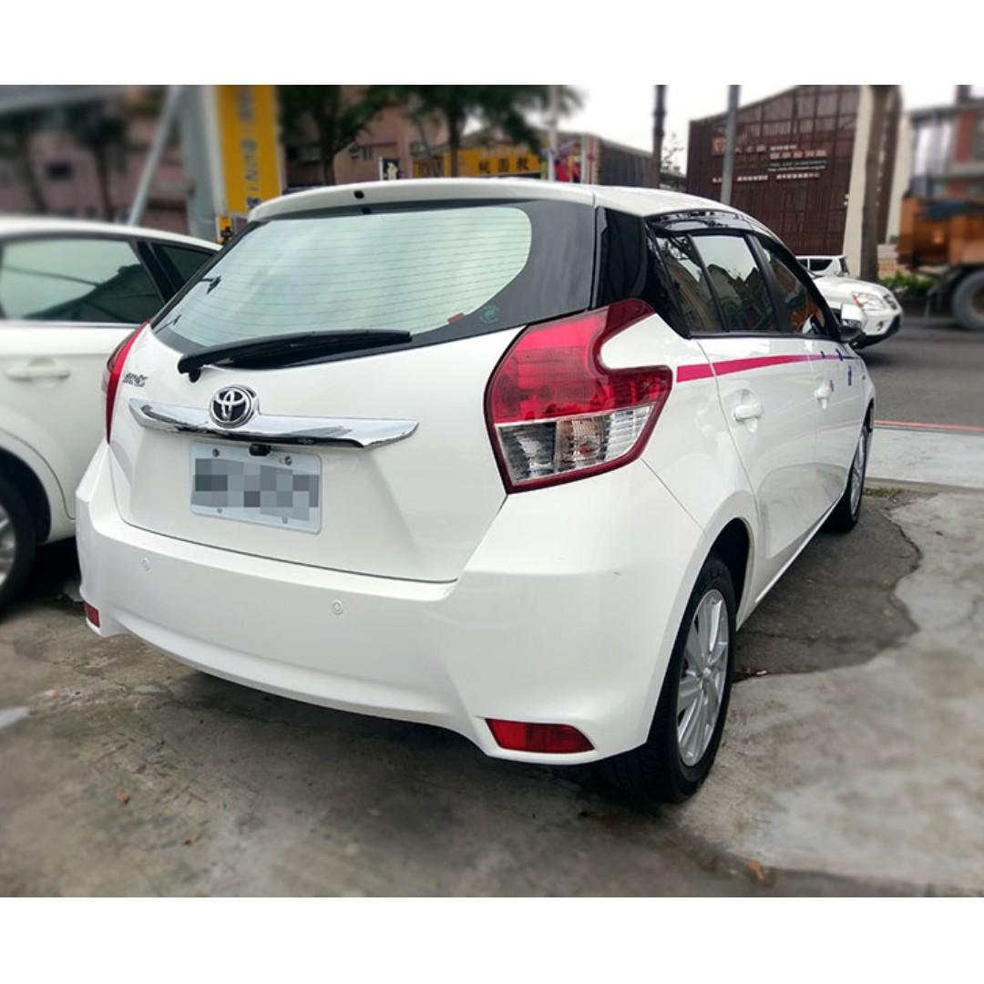 15年Toyota Yaris 1.5白『阿賢精選車坊』賞車專線:0908169110