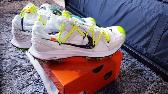 🚚 Off - White x Nike Zoom Terra Kiger 5 (white)