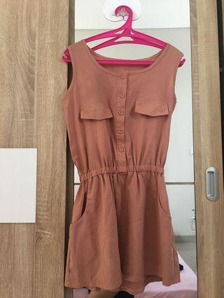 Choco chic dress
