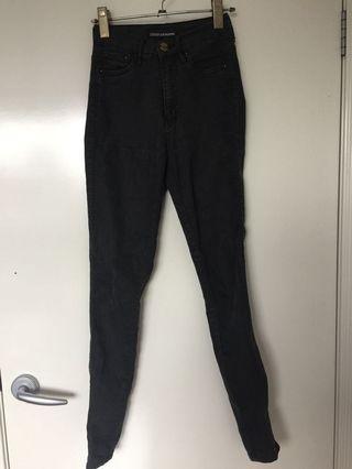 Ziggy denim black skinny jeans #swapau