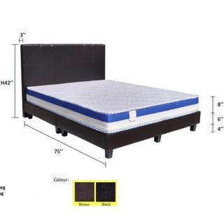 BedFrame With Mattress