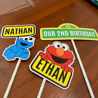 Cake toppers for birthday party
