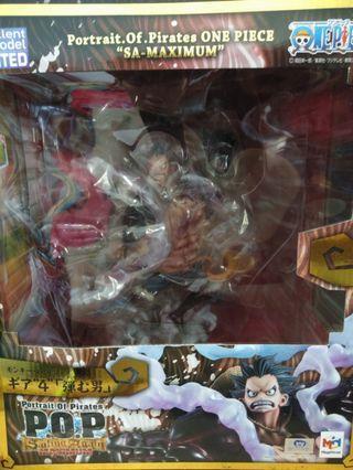 One Piece POP max  Luffy gear 4