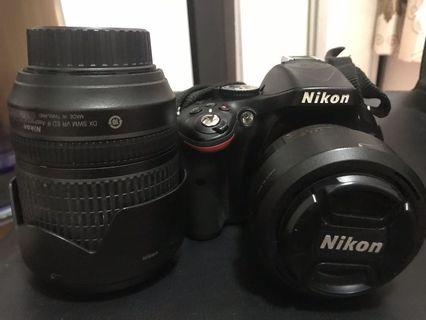 Nikon D5200 kit lens18-105 & nikkor 35mm f/1.8G