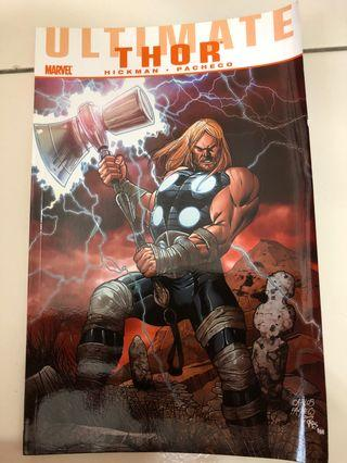 Ultimate Thor Marvel comics stormbreaker