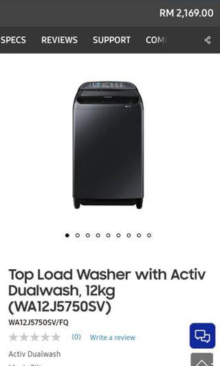Washing Machine 12kg inverter ( CLEARANCE SALE)