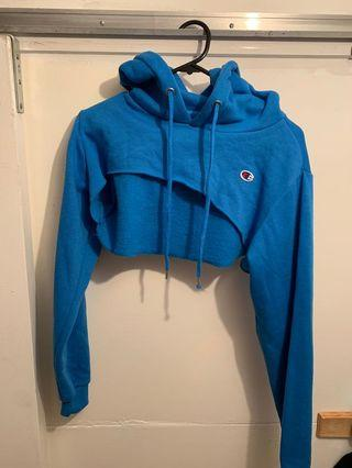 Champion xxxtra cropped hoodie