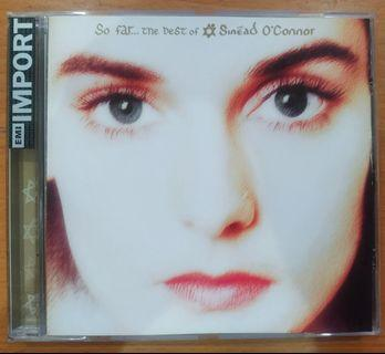 """CD: Sinead O'Connor """"So far... the best of"""""""
