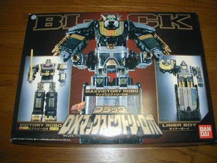 Black Victory Robo and Liner Boy Megazord (Sentai)
