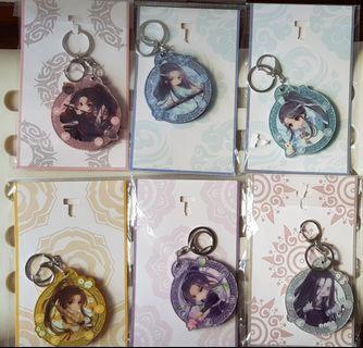 Official Mo Dao Zu Shi Mirror Keychains