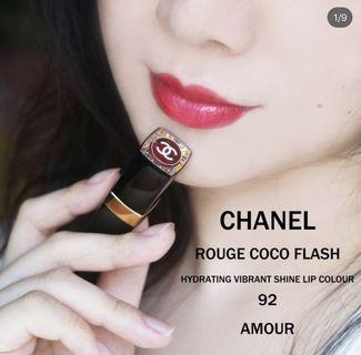 Chanel Rouge Coco Flash 92 Amour Lipstick