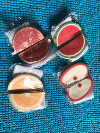水果memo紙