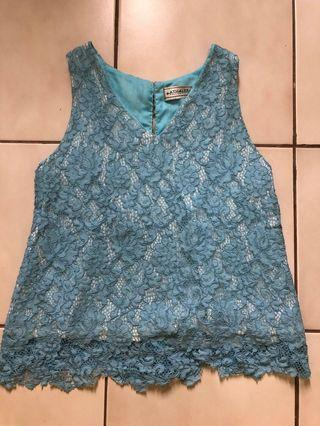 Athalee blue top