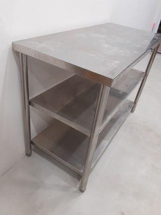 112cm Stainless Steel Table