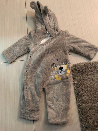 🚚 Baby Winter Wear overalls for 0-3mths