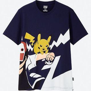 Uniqlo X Pokemon size M