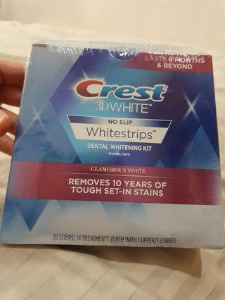 Crest dental whitening strip (28+8)