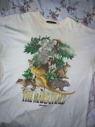 🚚 vintage animal top