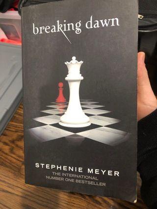 Breaking dawn -stephenie Meyer