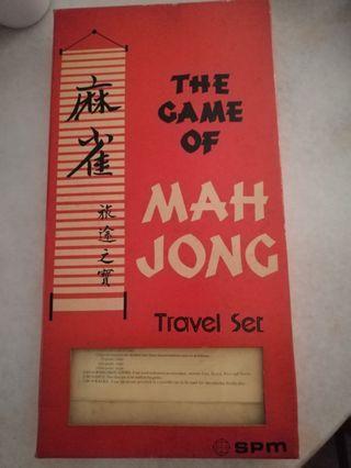 Mahjong Travel Set