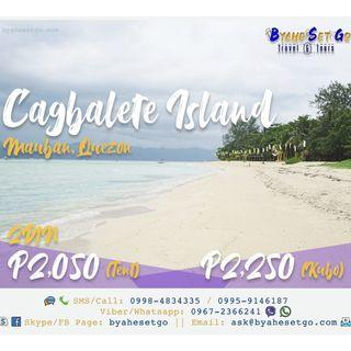 2D1N Cagbalete Island Tour Package