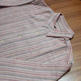 Vintage shirt stripes red