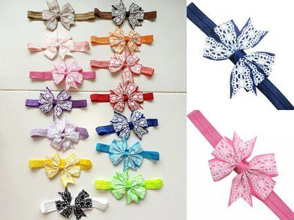 (B13) Baby Girl Children Princess Headband Hair Band Hair Clip Accessories