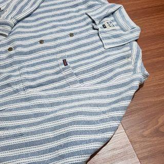 vintage blue way shirt
