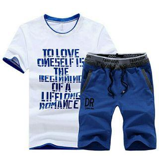 Men's Sports Short Sleeve Suit