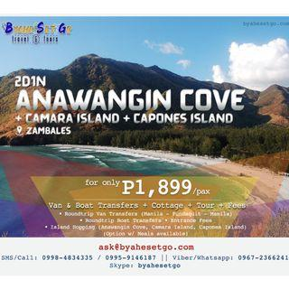 2D1N Anawangin Cove Tour Package