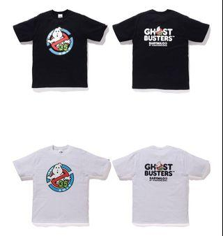 Bape x ghostbusters baby milo tee 1