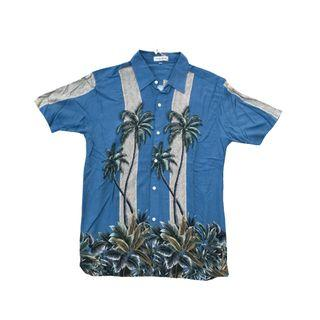 A&F Abercrombie&fitch hollister Hawaiian shirt 夏威夷恤衫短袖襯衫夏日風情
