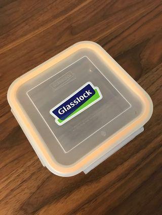 100% 全新 Glasslock 韓國正方形玻璃食物盒 3個