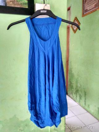 blouse top biru