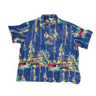 Hawaiian shirt 夏威夷恤衫短裇襯衫古著復古二手 vintage retro polo jcrew cos