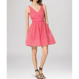 Maje pink 粉紅色 dress  cocktail dress, summer dress 謝師宴