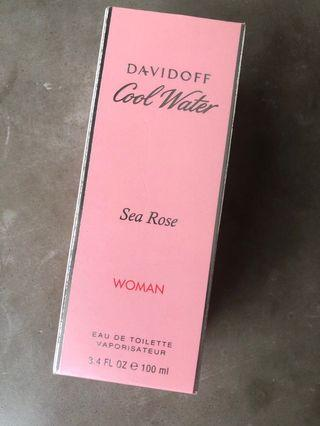 Davidoff cool water sea rose 100ml