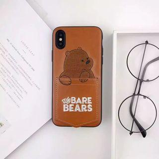 CASE iPhone 6 / 6s We Bare Bear WBB Teddy Bear Case IPhone