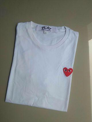 T-shirts play with heart