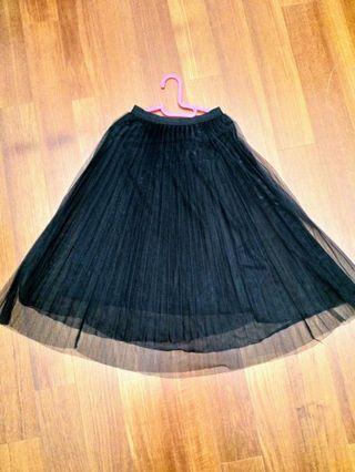 Pom Pom Skirt (Stretchable)