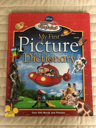 🚚 My first picture dictionary