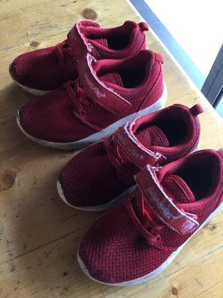 Unisex shoes for siblings/sisters/brothers