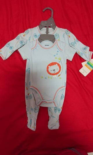 🚚 Pekkle 3M Baby Sleepsuit and Onesie with hanger