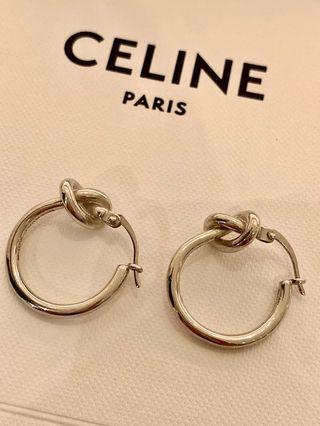 CÉLINE knot 耳環