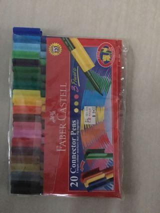 Colour Pencils pens Faber castell