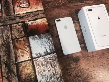 IPHONE 8 PLUS 64GB SILVER OFFICIAL