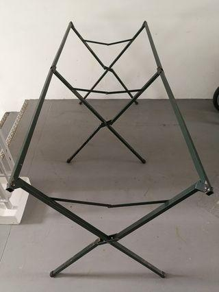 Foldable Table Stand/Rack