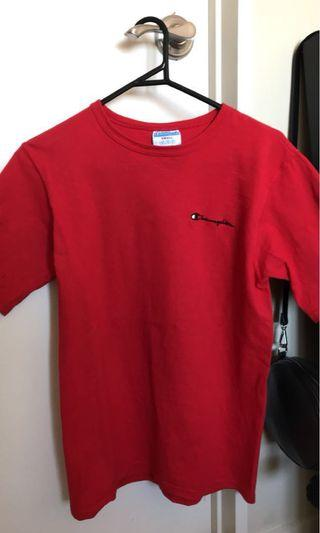 Authentic Champion red tshirt
