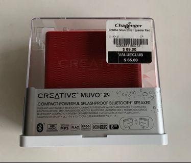 Creative MUVO 2c Bluetooth Splash Proof Speaker
